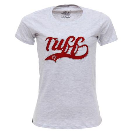 Camiseta Feminina Cinza Mescla Tuff 27922