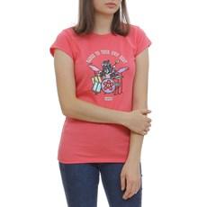 Camiseta Feminina Infantil Estampada Pink Levi's 29996