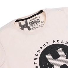 Camiseta Feminina Marfim Estampada TXC 26089