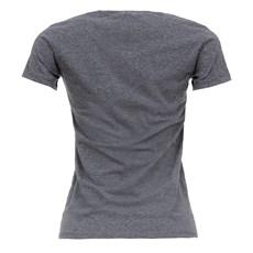 Camiseta Feminina Mescla Escuro TXC 26878