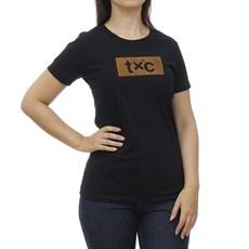 Camiseta Feminina Preta TXC 29084