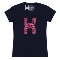 Camiseta Feminina TXC Azul Marinho 26596