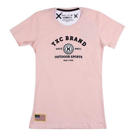 Camiseta Feminina TXC Rosa 26090