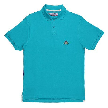 Camiseta Gola Polo Masculina Rodeo Western Verde 24628