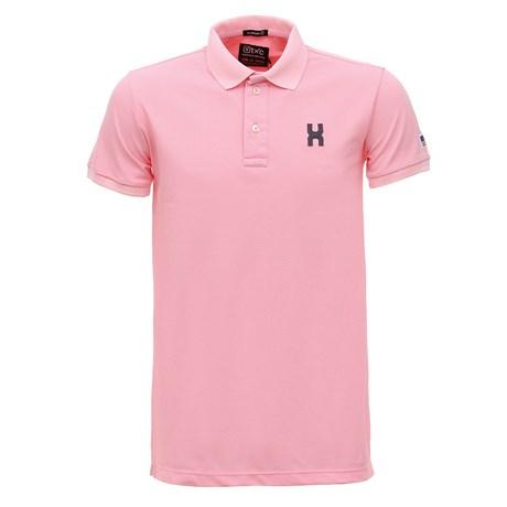Camiseta Gola Polo Masculina Rosa TXC 29090