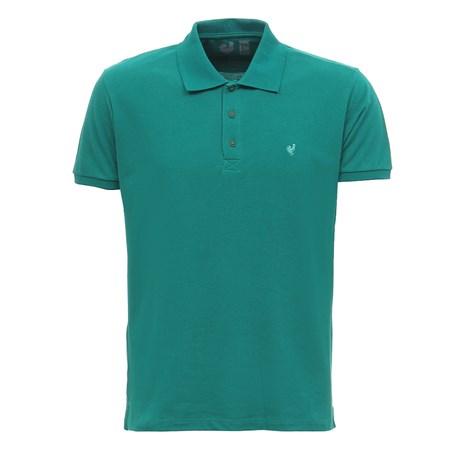 Camiseta Gola Polo Masculina Verde Made In Mato 29962