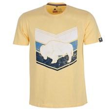 Camiseta Gringa's Western Original Amarela Masculina 24783