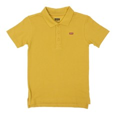 Camiseta Infantil Masculina Gola Polo Mostarda Levi's 30003
