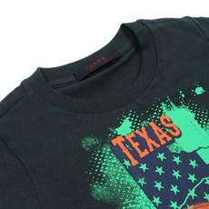 Camiseta Infantil Verde Masculina Estampada Tassa 28169