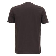 Camiseta Marrom Masculina Estampada Tassa 28159