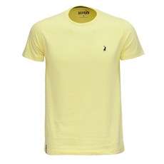 Camiseta Masculina Amarela Austin Western 25914
