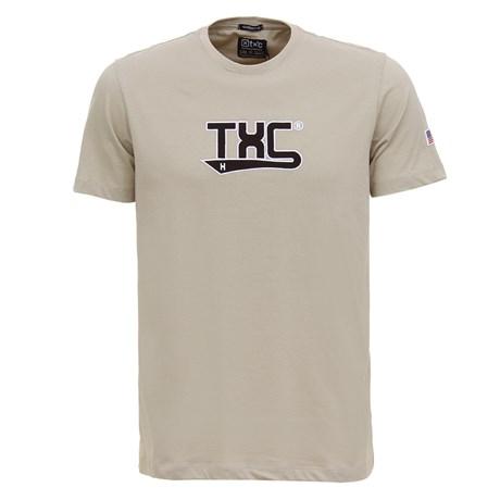 Camiseta Masculina Areia Bordado em Relevo TXC 29357