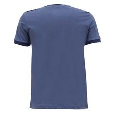 Camiseta Masculina Azul Básica Original Wrangler 28418