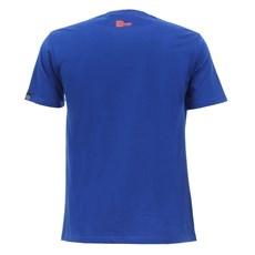 Camiseta Masculina Azul Estampada Smart Choice 27449