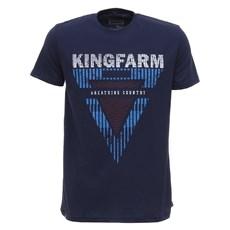 Camiseta Masculina Azul Marinho King Farm 28001