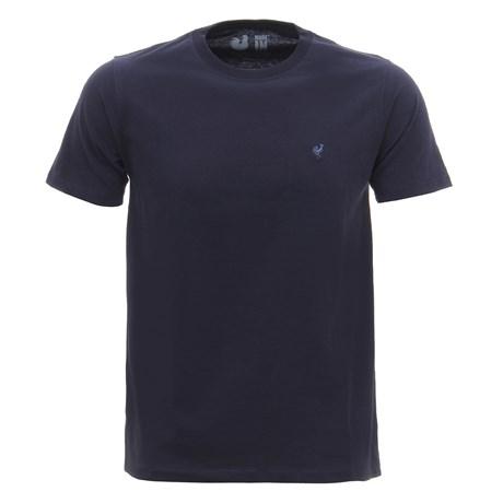 Camiseta Masculina Básica Azul Marinho Made In Mato 29964