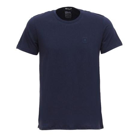 Camiseta Masculina Básica Azul Marinho TXC 29354