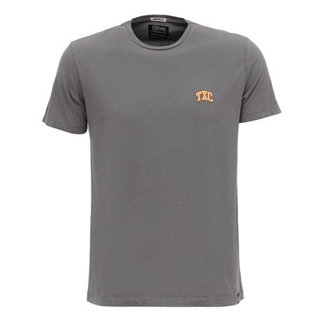 Camiseta Masculina Básica Cinza TXC 29355