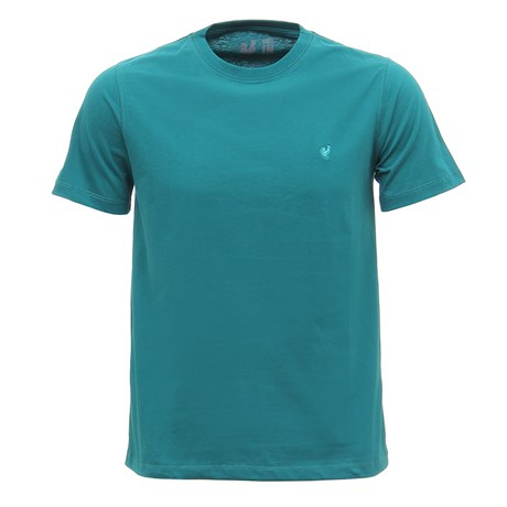 Camiseta Masculina Básica Verde Made In Mato 29965