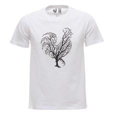Camiseta Masculina Branca Estampada Made In Mato 29969
