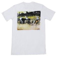 Camiseta Masculina Branca Team Penning - ABQM