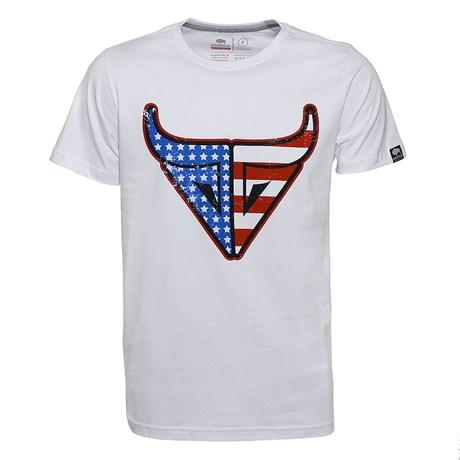 Camiseta Masculina Branca USA Original Gringa's Western 24957