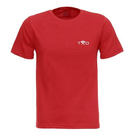 Camiseta Masculina Bull Rider Vermelha Texas Diamond 27847