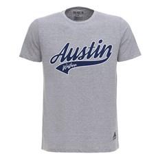 Camiseta Masculina Cinza Austin Western 28728