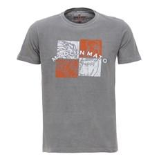 Camiseta Masculina Cinza Claro Made In Mato 28518