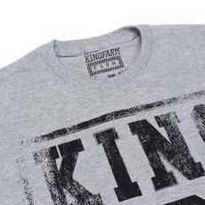 d581247024e1b Camiseta Masculina Cinza King Farm 23749 Camiseta Masculina Cinza King Farm  23749