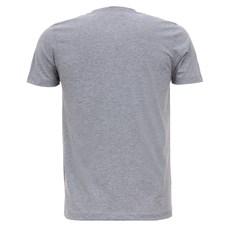 Camiseta Masculina Cinza Mescla Básica Gringa's 28105