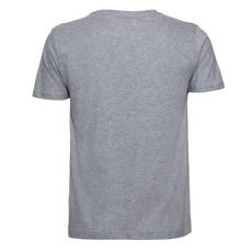Camiseta Masculina Cinza Mescla Estampada Original Gringa's Western 24952
