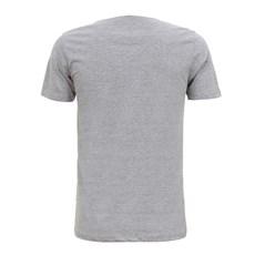 Camiseta Masculina Cinza Mescla TXC 29358