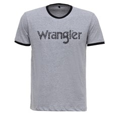 Camiseta Masculina Cinza Original Wrangler 28215