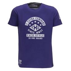 Camiseta Masculina Estampada Roxa TXC 26095