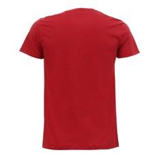 Camiseta Masculina Estampada Vermelha King Farm 30045