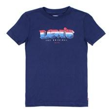 Camiseta Masculina Infantil Azul Levi's 29820