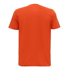 Camiseta Masculina Laranja Estampada Tassa 29924