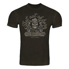 Camiseta Masculina Marrom Estampada Invictus 30393