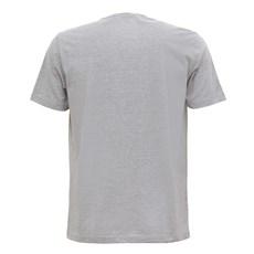 Camiseta Masculina Mescla Cinza Estampada Tassa 29922