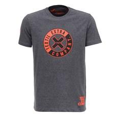 Camiseta Masculina Mescla Escuro TXC 26562