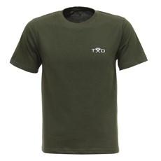 Camiseta Masculina Montaria em Touro Verde Texas Diamond 27845