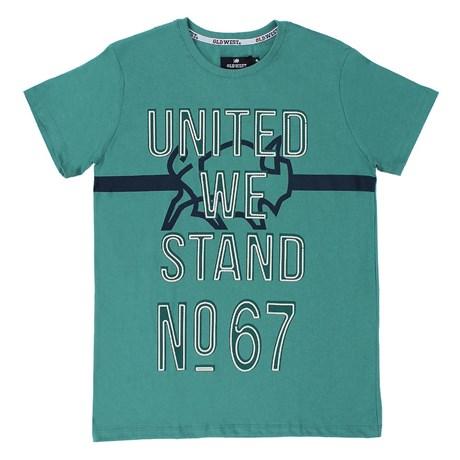 Camiseta Masculina Old West Verde 21737