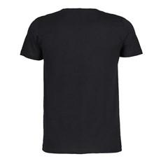 Camiseta Masculina Preta Básica Austin Western 25058