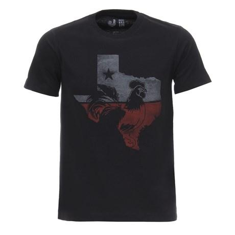 Camiseta Masculina Preta Estampada Made in Mato 28714