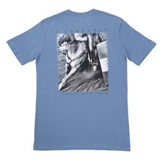 Camiseta Masculina Roxa 3 Tambores 100% Algodão - Wild Colt 17304