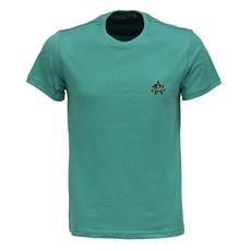 Camiseta Masculina Verde Gola Redonda Rodeo Western 26357
