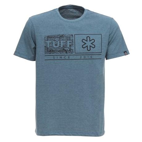 Camiseta Masculina Verde Mescla Estampada Tuff 28814