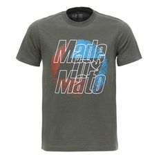 Camiseta Masculina Verde Musgo Made In Mato 28512