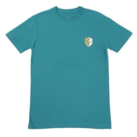 Camiseta Masculina Verde Sela Americana 100% Algodão - Wild Colt 17309